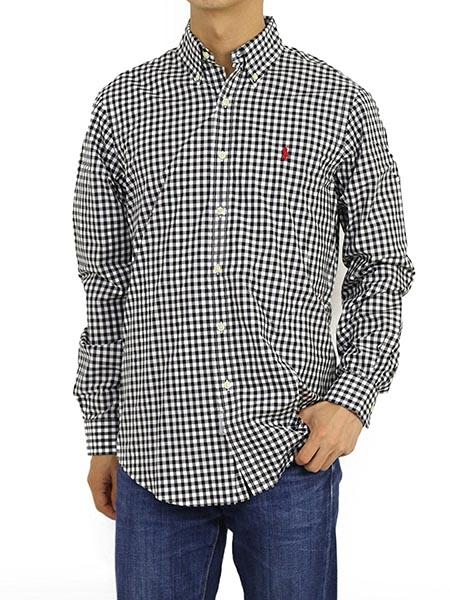 ギンガムチェックボタンダウンシャツ/POLO Ralph Lauren