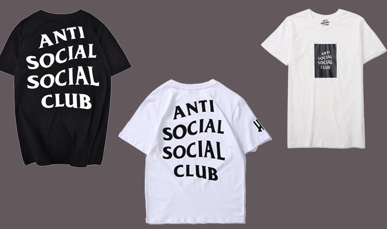 ANTI SOCIAL SOCIAL CLUB Tシャツ