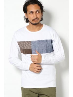 チェストコール切り替えTシャツ