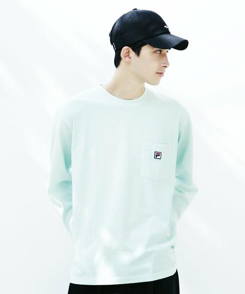 TK ×FILA/ ロングスリーブTシャツ
