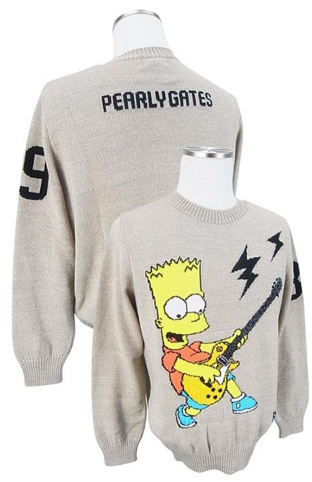 PEARLY GATES/シンプソンズセーター
