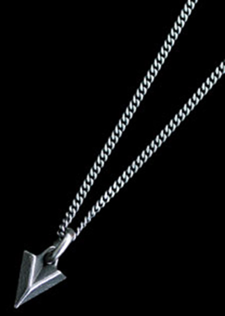 Still Hard V SV Necklace(Silver)