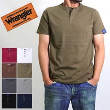 ヘンリーネック半袖Tシャツ