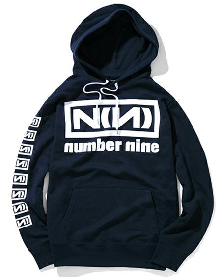 NUMBER (N)INE ネイビーパーカー