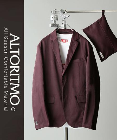 JOURNAL STANDARD relume/ALTORITMO COOLMAX ストレッチツイルパッカブルジャケット