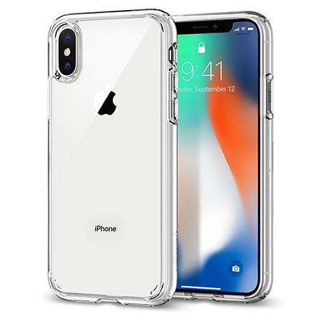 Spigen iPhoneX ケース全面クリアタイプ