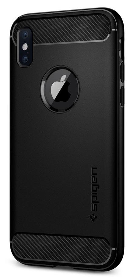 Spigen iPhoneX ケース全面マット仕上げ