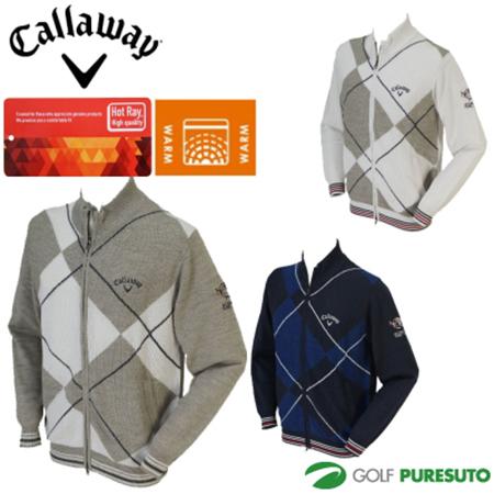 Callaway/フルジップニットブルゾン