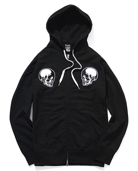 ZIP UP PARKA_SKULL