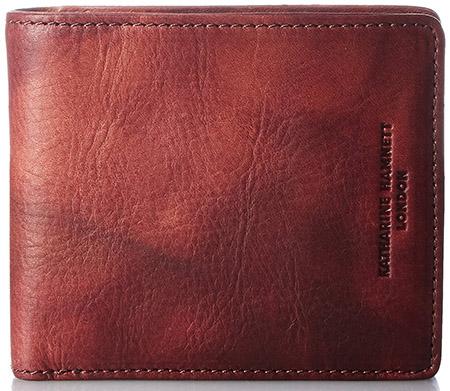 FLUID 二つ折りボックス財布