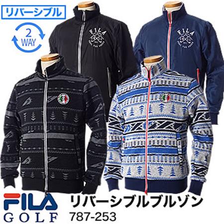 FILA GOLF/リバーシブルブルゾン