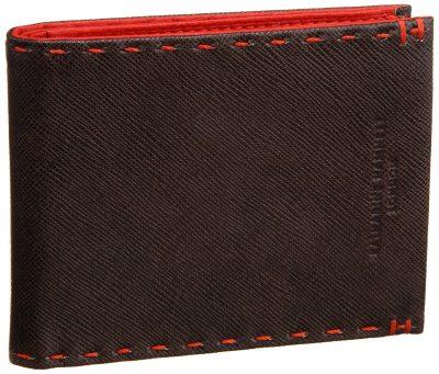 二つ折りカラーテーラード財布