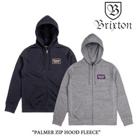 PALMER ZIP HOOD FLEECE