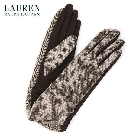 ウールツイード手袋