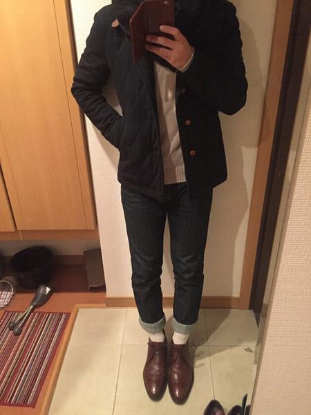 JALAN SRIWIJAYA 革靴 コーデ