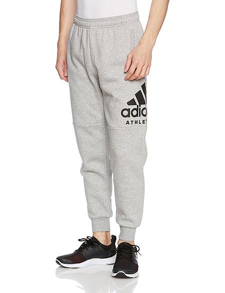 adidas/スウェットテーパードパンツ