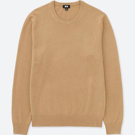UNIQLO/カシミアクルーネックセーター