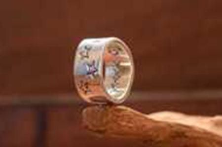 ZIG ZAG Star Ring