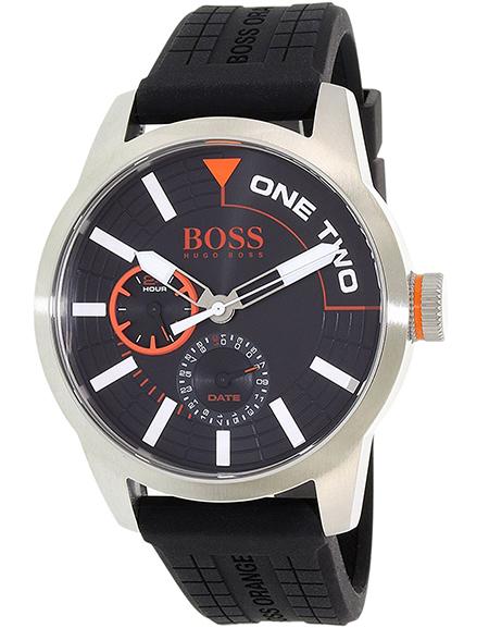 Orange Silicone Watch