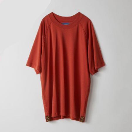 ショートラグランスリーブTシャツ