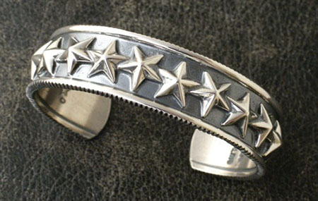 DOUBLE DIPPER STAR COIN EDGE BRACELET