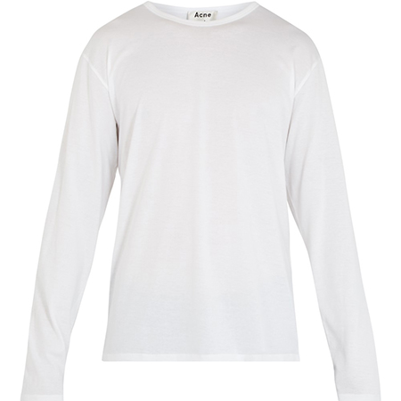 Niagara long-sleeved cotton T-shirt