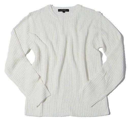 白セーター