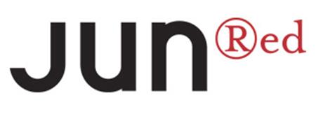 JUN RED ロゴ