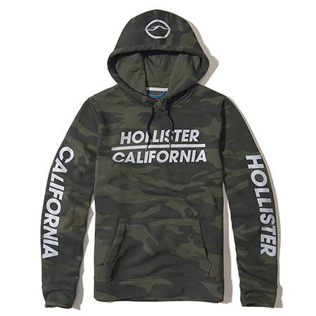Hollister/LOGO GRAPHIC HOODIE