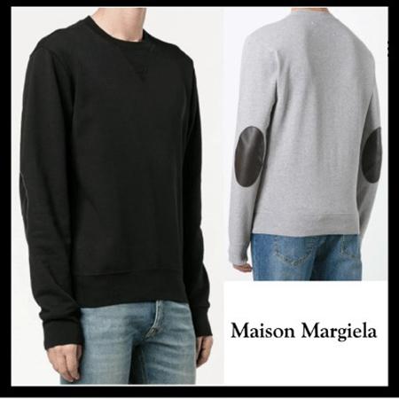 Maison Margiela/エルボーパッチスウェットシャツ