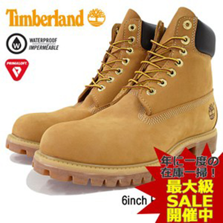 Timberland/6inch Boot Wheat