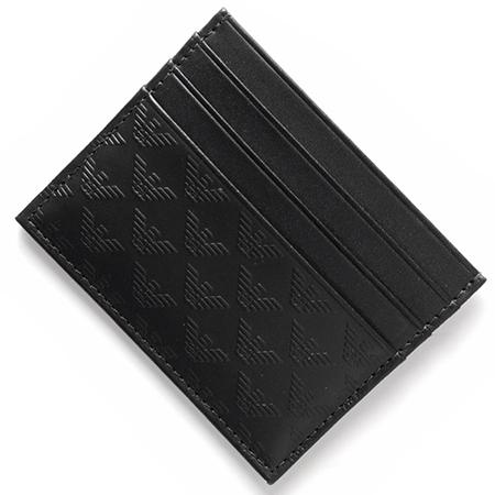 EMPORIO ARMANI/カーフレザーカードケース