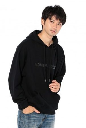 NUMBER (N)INE DENIM×LOVELESS・GUILD PRMIE/MENS COLLABORATION OVER SIZE HOODIE