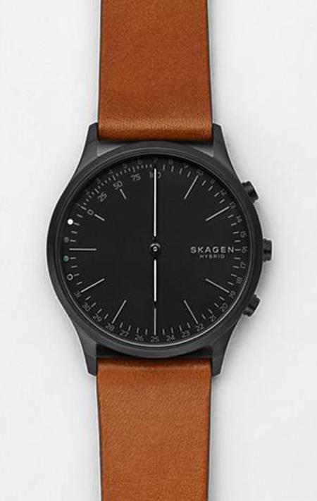 Hybrid Smartwatch - Jorn Cognac Leather