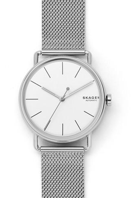 Falster Automatic Steel-Mesh Watch