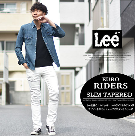 EURO RIDERS SLIM TAPERED JEANS