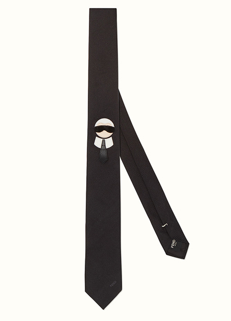 カリート刺繍 ブラックツイル