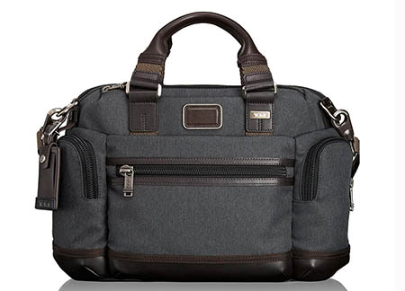 ALPHA BRAVO BROOKS SLIM BRIEF BAG