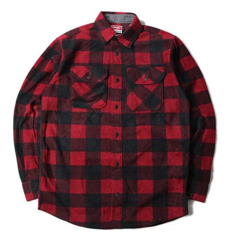 フリースネルシャツ
