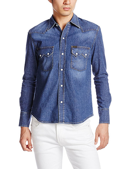 STRETCH DENIM SHIRTS