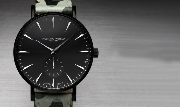 huntingworld 腕時計