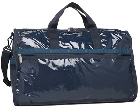 CLASSIC LARGE WEEKENDER NAVY PATENT