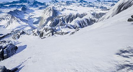 旧滑降体験機スキーロデオ