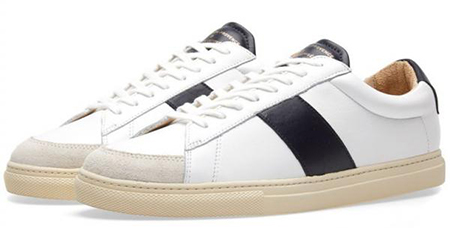 White & Navy Nappa ZSP4 RC Sneaker