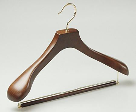 ハンガーのながしお 高級木製ハンガー
