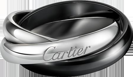 Cartier/トリニティリング クラシック セラミック