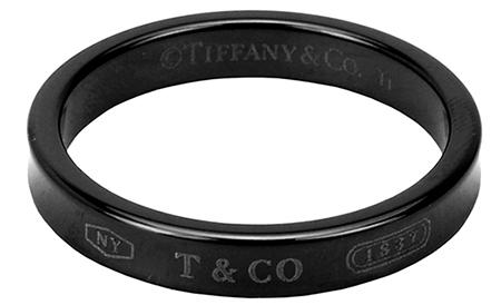tiffany/1837 ナローチタンリング
