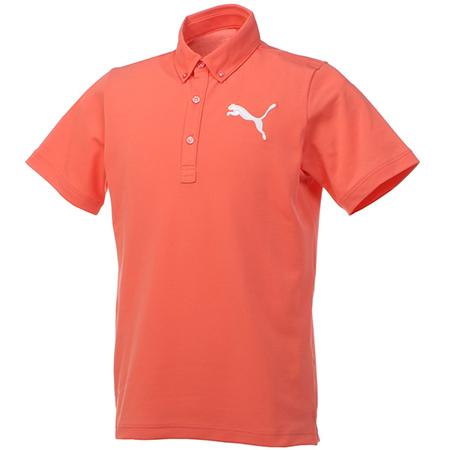 PUMA/ビッグキャット半袖ポロシャツ