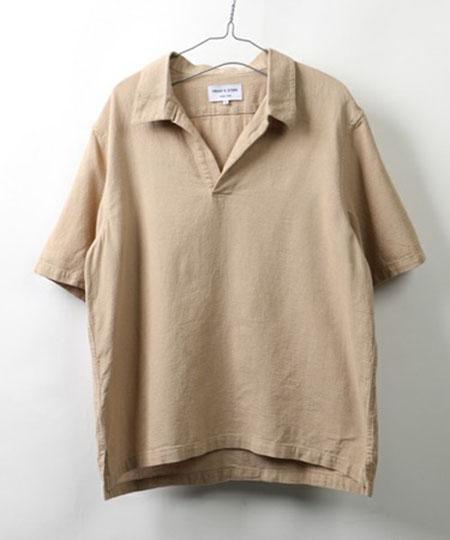 パナマスキッパーシャツ