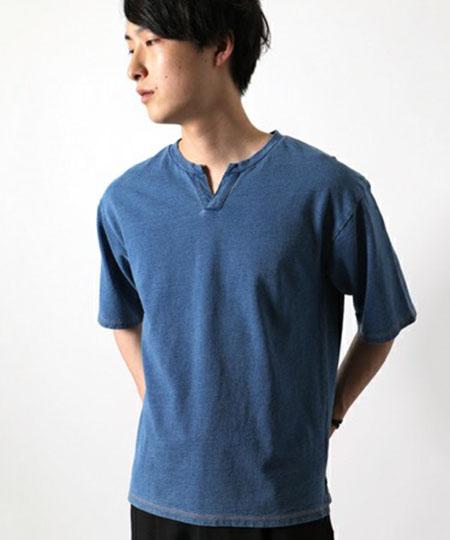 インディゴスキッパー ショートスリーブTシャツ